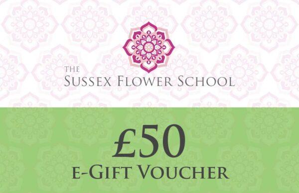 £50 Gift Voucher - Sussex Flower School